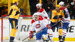 Predators celebrate vs. Pacioretty, Canadiens