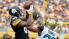 Antonio Brown Jalen Ramsey