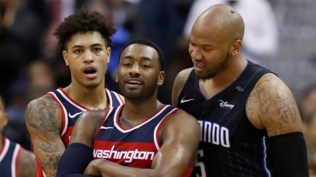 Kelly Oubre Jr. John Wall Maresse Speights