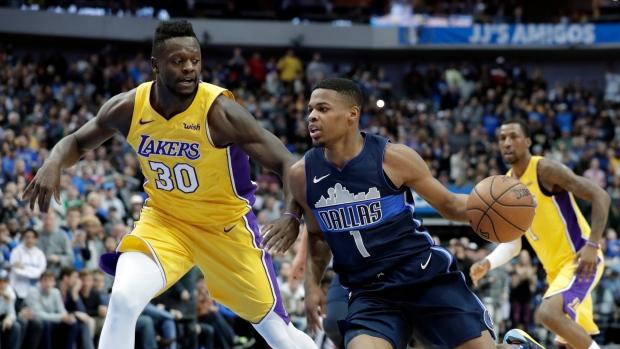 Randle Leads Lakers Past Mavericks In Ot Tsn Ca