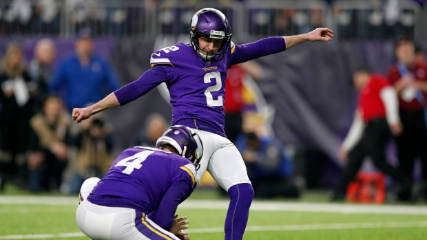 Patriots Sign Kicker Kai Forbath After Folk Undergoes Emergency Appendectomy