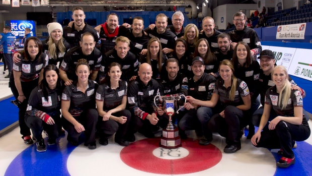 Team North America wins Continental Cup