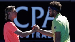Shapovalov and Tsonga