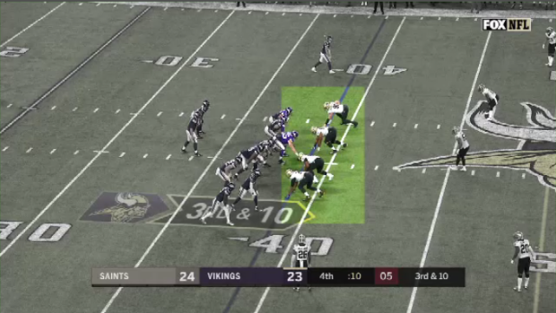 last play of the saints game