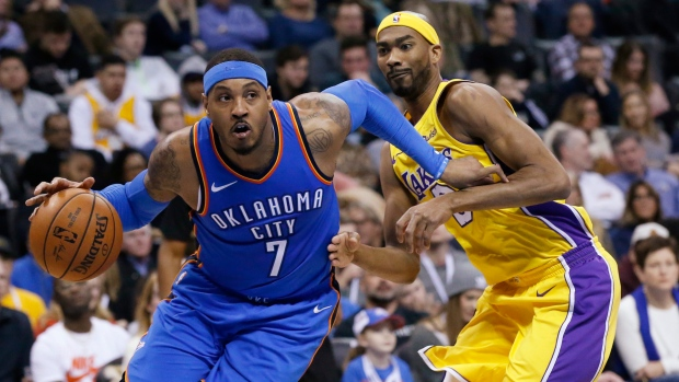 Rockets' New Signing Carmelo Anthony To Come Off Bench