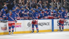 New York Rangers celebrate