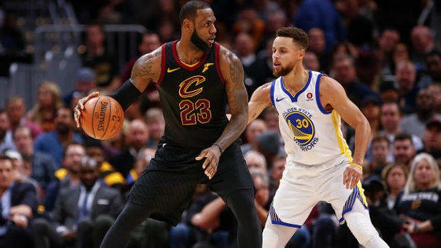a8d39b3c71e8 LeBron James and Stephen Curry