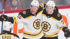 David Pastrnak Jake DeBrusk
