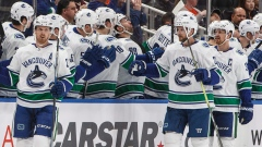 Vancouver Canucks Celebrate