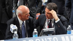 Lou Lamoriello & Brendan Shanahan at NHL Draft