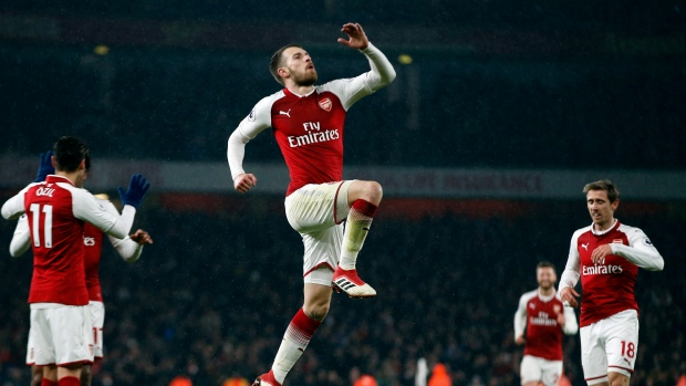 Juventus interested in signing Aaron Ramsey, says sporting director Fabio Paratici