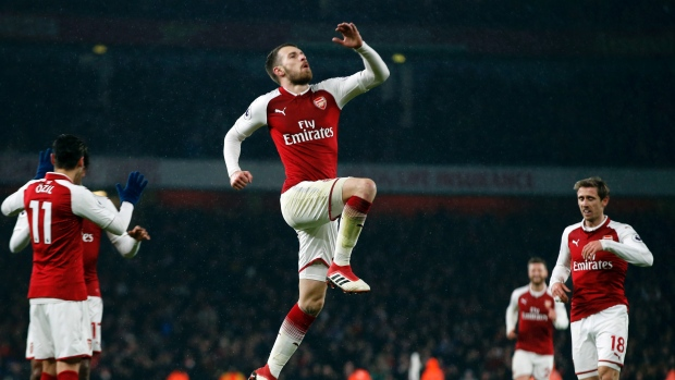 Juventus 'monitoring' Arsenal midfielder Ramsey's transfer situation - director