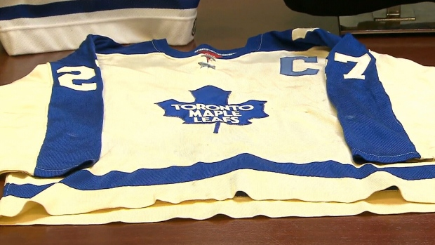 664ba987593 Sittler's record-setting jersey resurfaces after 42 years - TSN.ca