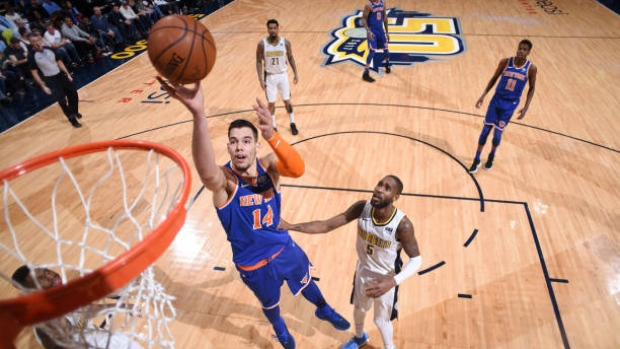 Knicks trading center Hernangomez to Hornets