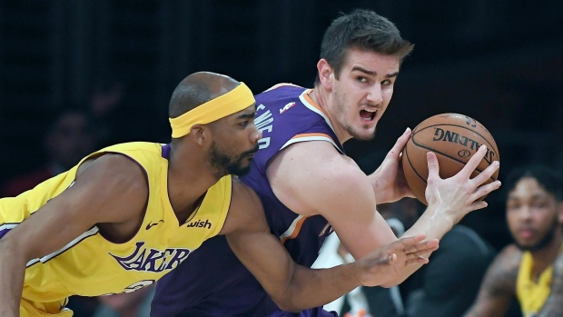 Los Angeles Lakers waive veteran guard Corey Brewer