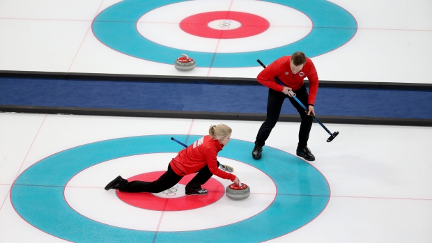 Canada suffers attractive loss in historic first Olympic blended doubles sport