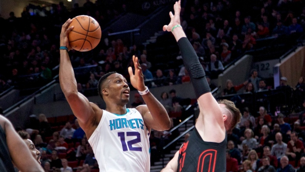 Dwight Howard and Jusuf Nurkic