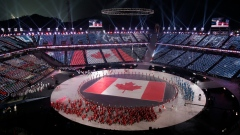 Canada enters Opening Ceremony