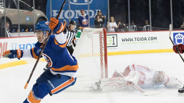 Isles' Nelson signs 6-year deal after career year