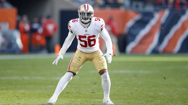 Reuben Foster charged with domestic abuse, allegedly ruptured woman's ear drum