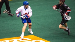 Schreiber leads Rock over Swarm and into NLL division finals